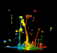 splashy color
